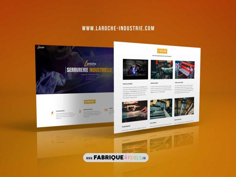 MockupLarocheWebsite